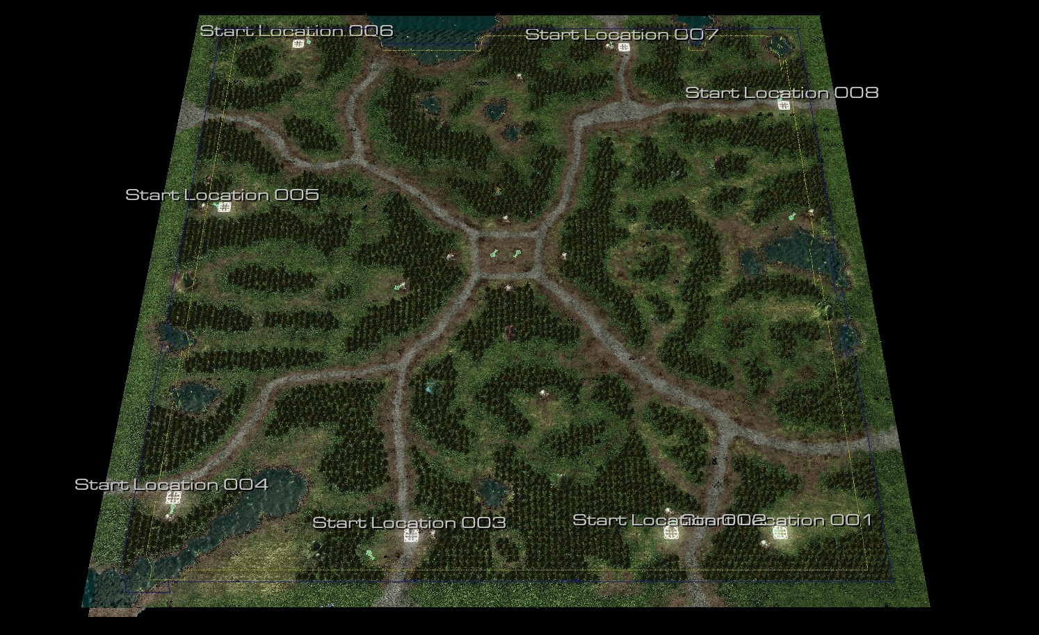 Chronicles of Azeroth - Warcraft 2 and Warcraft 1 remake in Sc2 on monte carlo maps, fusion maps, tf2 maps, tacoma maps, explorer maps, diablo maps, gw2 maps,